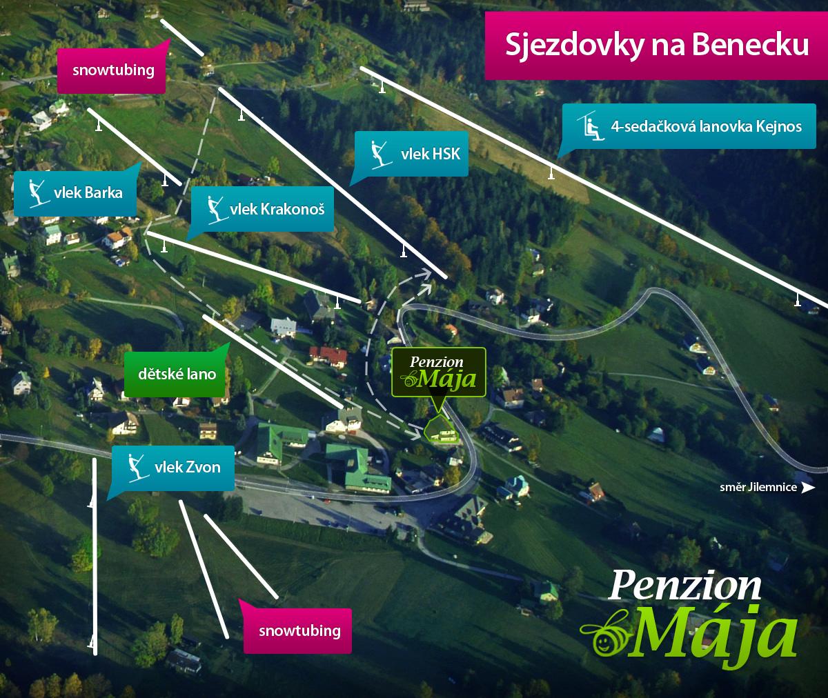 Pension Mja, Benecko - Penziony - Krkonoe - Benecko